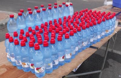 צריכת מים בעת ריצה ל- 10 ק