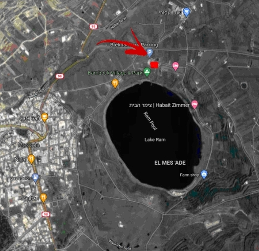 מפת הגעה מרוץ השלום